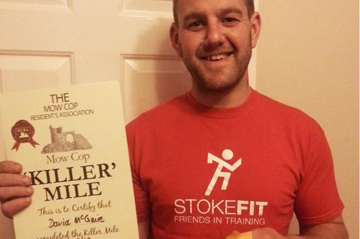 Stoke F.I.T. kill the Mow Cop Mile